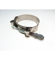 Schlauchschelle Edelstahl W4 Kragen für Silikonschlauch 90mm