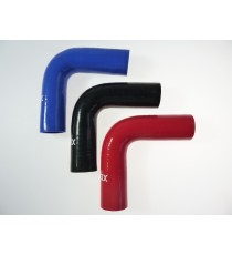 35mm Länge 150mm - 90° Bogen Silikon - REDOX
