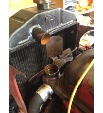 Silikon oberer Wasserkühlerschlauch für Massey Harris Pony 820 TM ausgestattet Peugeot 203 Motor
