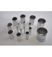 10mm - Muff Recht Aluminium 100mm - REDOX