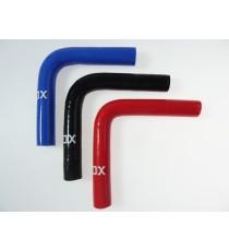 11mm - 90° Bogen Silikon - REDOX