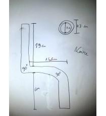 Schlauch Kühler von Heizung VW Caddy 1.9 TFI 105 cv (Unterdrückung van EGR)