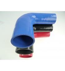 60-80mm - Reducer 90° Silikon RAL 6038 - REDOX