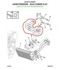 Kit 11 Wasserschläuche Silikon PEUGEOT 309 GTI 16
