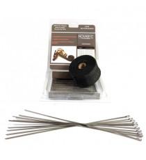 Wärmeschutz Titanium 45° Bögen Silikon Durchmesser 57 zu 60mm