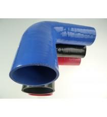 57-76mm - Druckminderer 90 ° Silikon - REDOX