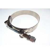 92-97mm - Schlauchschelle Edelstahl W4 Kragen