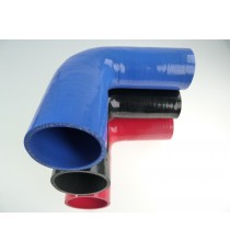 70-76mm - Druckminderer 90 ° Silikon - REDOX