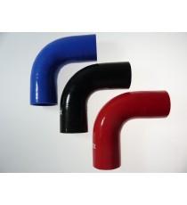 54mm Länge 125mm - 90° Bogen Silikon - REDOX